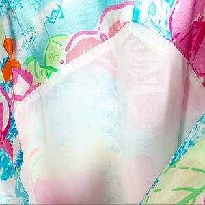 Lilly Pulitzer Dresses - Lily Pulitzer Silk Dress in a Size 6.